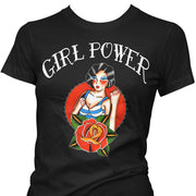 Image of Pinky Star Women's T-Shirt - Girl Power
