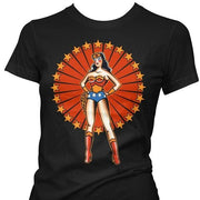 Image of Pinky Star Women's T-Shirt - Wonder Woman