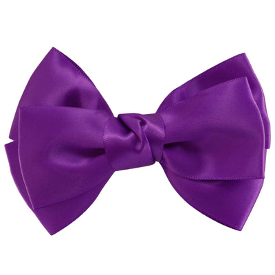 Hair Clip - Satin - Purple