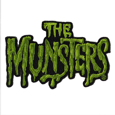 Rock Rebel The Munsters Logo Iron On Patch