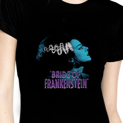 Rock Rebel Women's T-Shirt - Bride Of Frankenstein - cropped