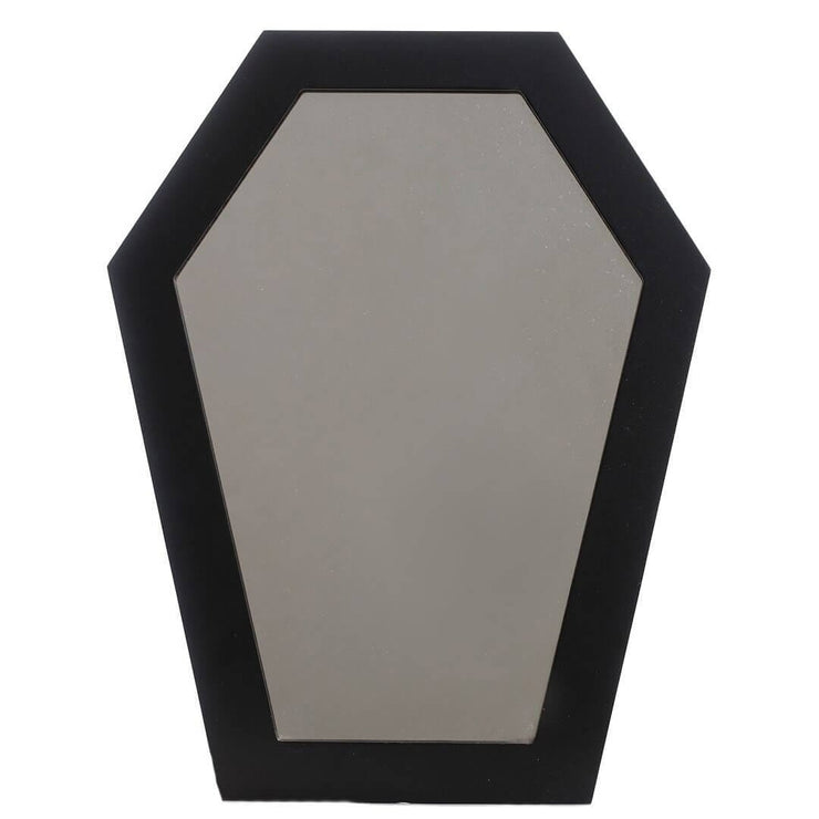 Image of Sourpuss Coffin Mirror - Black
