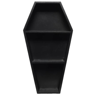 Image of Sourpuss Coffin Shelf - Black