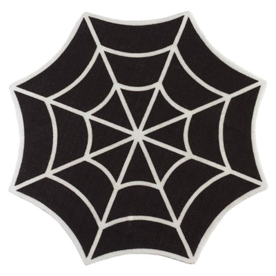 Sourpuss Spiderweb Door Mat