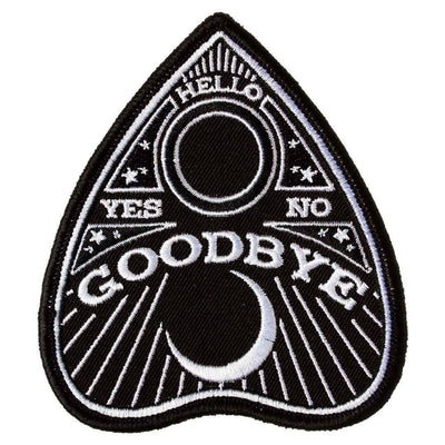 Image of Sourpuss Planchette Ouija Iron On Patch