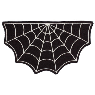Image of Sourpuss Spiderweb Door Mat