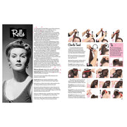 Vintage Hairstyling Book: Retro Styles with Step-by-Step Techniques (3rd Ed) rolls