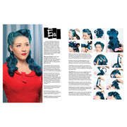 Vintage Hairstyling Book: Retro Styles with Step-by-Step Techniques (3rd Ed) Eva