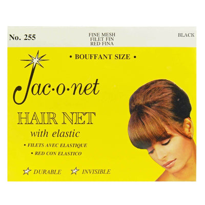 Image of Vintage Hairstyling Jac-O-Net Hair Net - Black