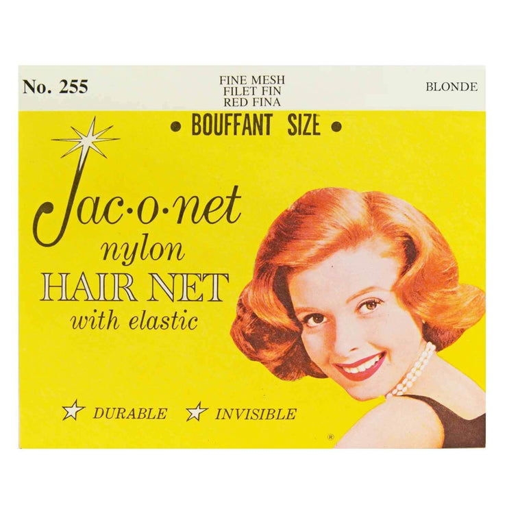 Image of Vintage Hairstyling Jac-O-Net Hair Net - Blonde