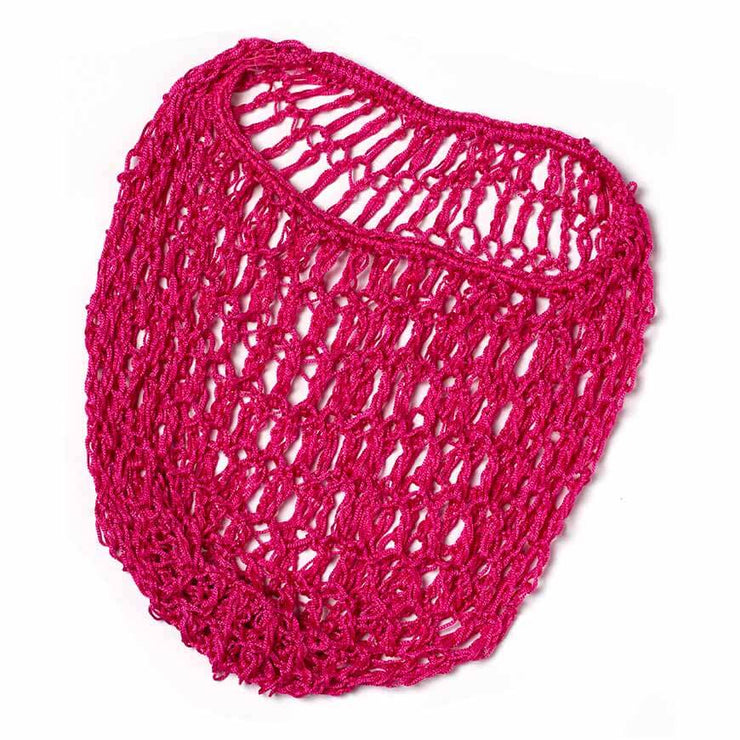 Vintage Hairstyling Gloria Roux Hair Snood - Raspberry