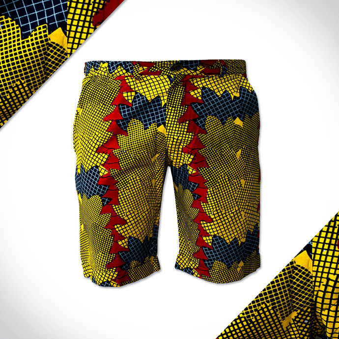 Autumn in Africa formal Shorts