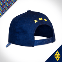 Baseball royal peack cap shweshwe africa made only