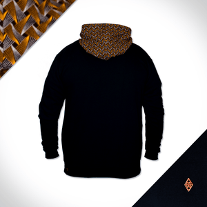 Leopard Hooded Weave - Black