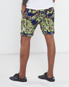 Hens in the tropics formal green shorts africa made only