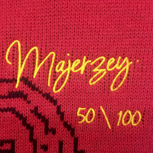 Majerzey by majozi red knitted jersey