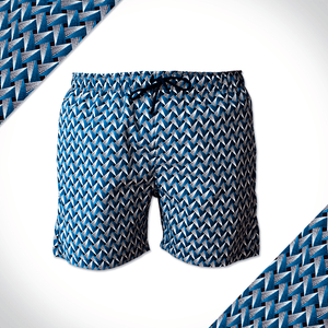 Navy The Weave Kids Shorts