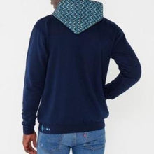 africa made only ocean hooded weave