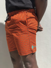 Orange Local Shorts