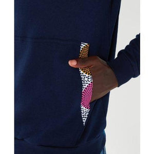 Hooded Pink Orb - Navy