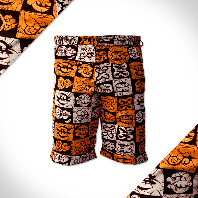 Tribal Tiles shorts