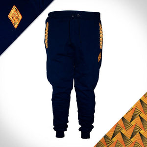fleece_joggers_track_pants_sun_shweshwe_weave_africa_made_Only