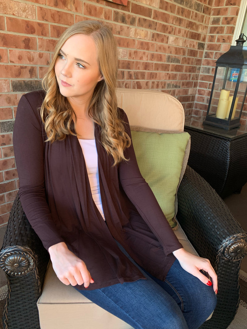 Sophia Cardigan - Brown