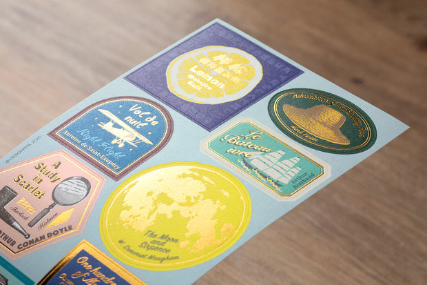 Traveler's Notebook 2021 Sticker Set