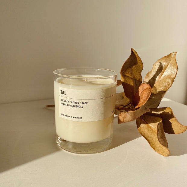 Posie candle TAL - Botanica / Citrus / Sage 300g - simplebeautifulthings