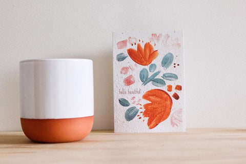 Hello Petal Cards-hello beautiful-Simple_Beautiful_Things