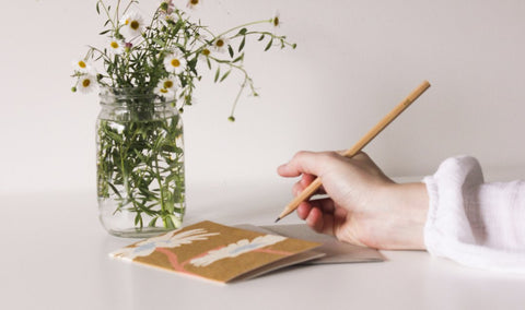 HelloPetalCards_Two_Flowers_Blooming_Pencil_Simple_Beautiful_Things