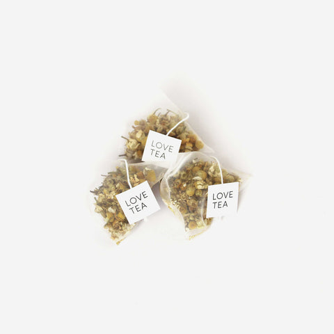 Love Tea Chamomile Pyramids - Simple Beautiful Things