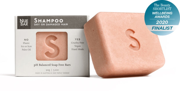 NueBar Shampoo Bar Dry or damaged - Simple Beautiful Things