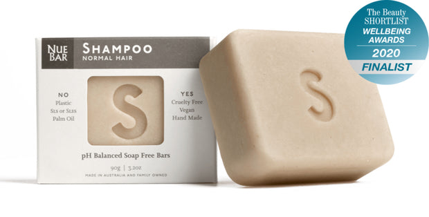 NueBar Shampoo Bar normal hair - Simple Beautiful Things