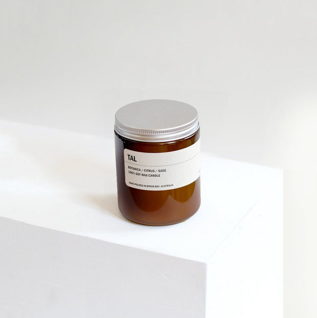 Posie Candle TAL botanica / Citrus / Sage 250g - Simple Beautiful Things