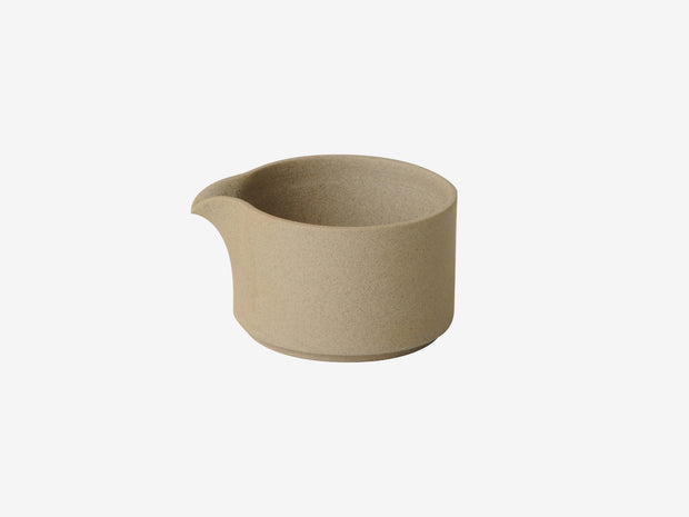 Hasami Porcelain Pitcher Natural - Simple Beautiful Things
