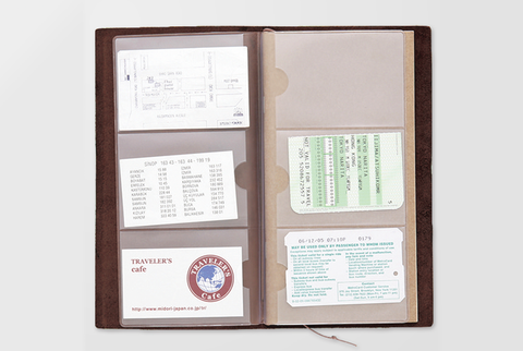 Traveler's Notebook Refill - Card file - simplebeautifulthings