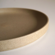 Hasami Porcelain Plate 18.5cm - Natural - simplebeautifulthings