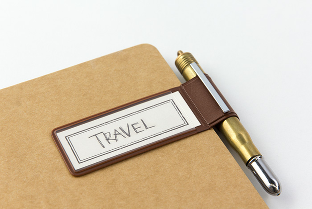 Traveler's Notebook Accessories - Pen Holder Sticker - simplebeautifulthings