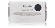 Salus Black clay soap - simplebeautifulthings