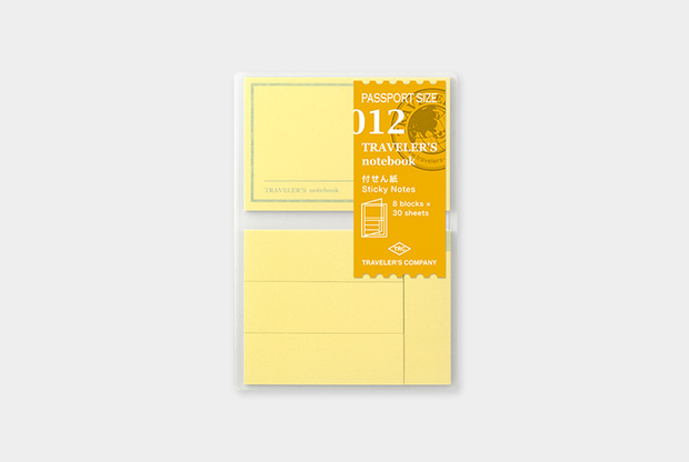 Traveler's Notebook Refill - Sticky Notes,  Passport Size - simplebeautifulthings