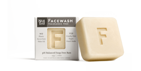Nue Bar Face Wash - fragrance free - simplebeautifulthings