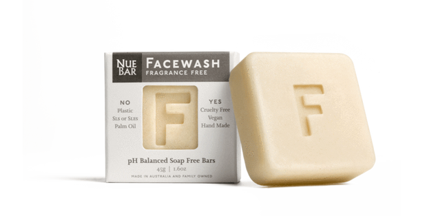 Nue Bar Face Wash - fragrance free