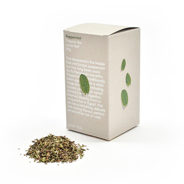 Love Tea Peppermint Loose Box - Simple Beautiful Things