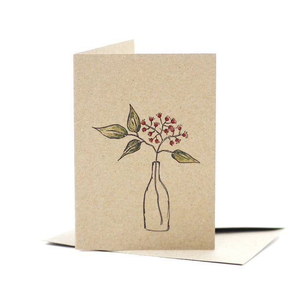 natives-in-a-bottle-kraft-card-deer-daisy_Simple_Beautiful_Things