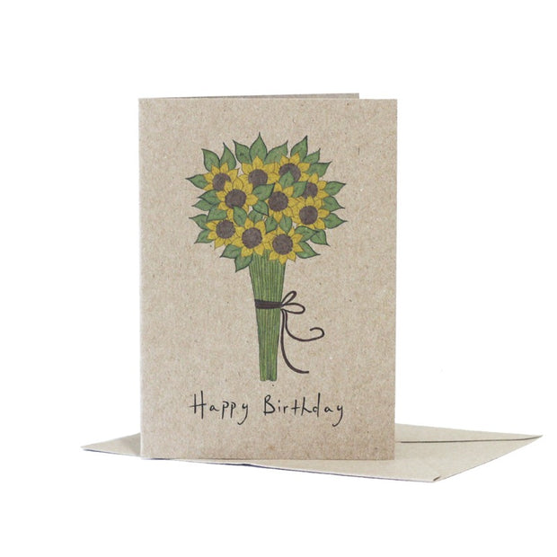 sunflower-happy-birthday-kraft-card-deer-daisy_Simple_Beautiful_Things