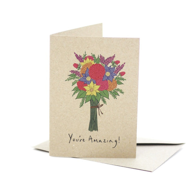 you_re-amazing-kraft-card-deer-daisy_Simple_Beautiful_Things
