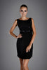 Jessica Choay Abrazo Dress in Black