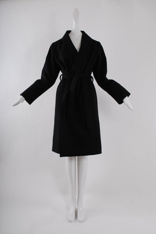 La Premiere Classic Coat in Dark Blue