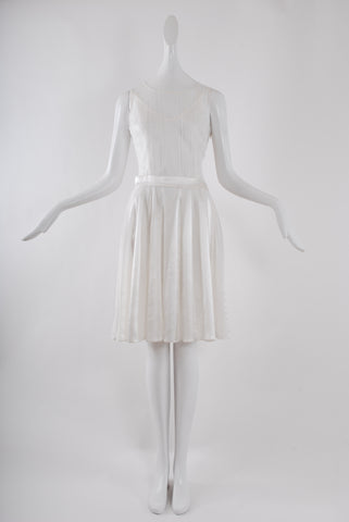 Jessica Choay Decadent Dress in White